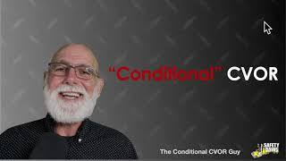 Conditional CVOR